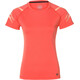asics Icon - T-shirt course à pied Femme - rouge